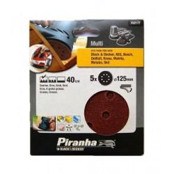 Carteira discos ABV/Rebarbadora (40G) 125mm Ref - X32177