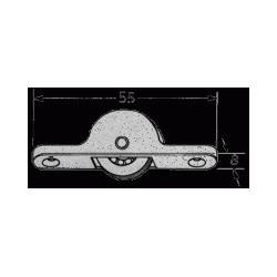 Carro Esferas com rodas de nylon mod.104