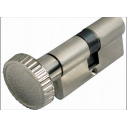Cilindro com botão Niquelado Ref - 7756.C