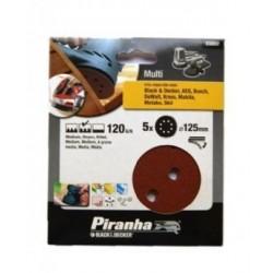 Carteira discos ABV/Lixadeira (120G) 125mm Ref - X32037