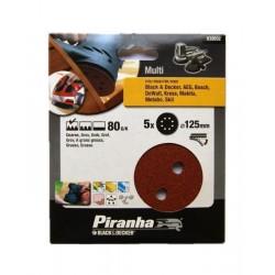 Carteira discos ABV/Lixadeira (80G) 125mm Ref - X32032