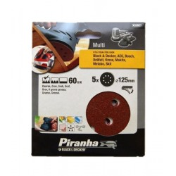 Carteira discos ABV/Lixadeira (60G) 125mm Ref - X32027