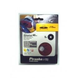 Carteira discos ABV/Rebarbadora (40G) 115mm Ref - X32160
