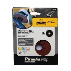 Carteira discos ABV/Rebarbadora (40G) 115mm Ref - X32155