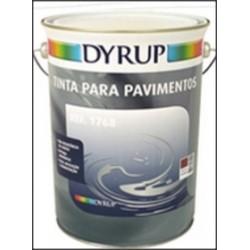 Tinta para pavimento Cinzento 0.75L Ref - 1168