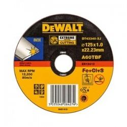 Aço imaculado Standard / Disco de corte Inox DT4224