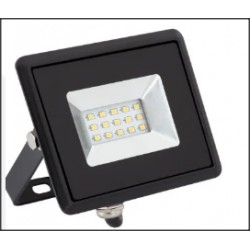 Foco LED 10W 230V Branco Frio 800lm Preto PROK