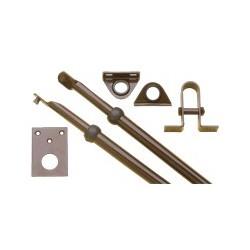Extensivos para fechaduras de lançar fechos ou trancas para portas até 2,20 m.